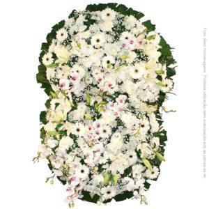 Coroa de Flores Prime Branca